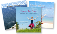 Delamay Devi Yoga DVD's